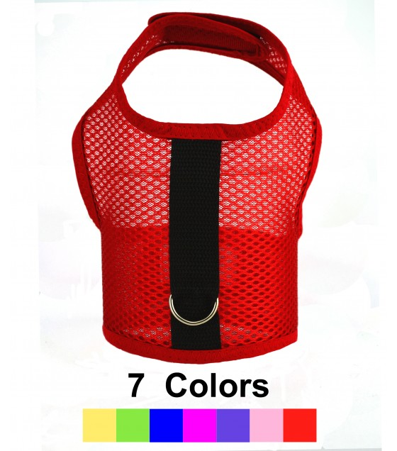 Air Mesh Vest Harness in 7 Colors